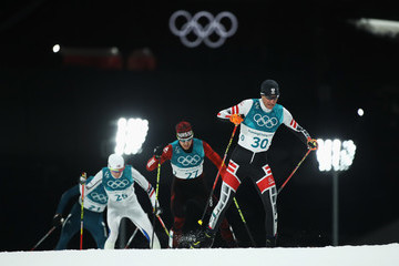 Bernhard Gruber Nordic Combined - Winter Olympics Day 11