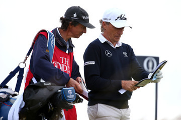 Bernhard Langer Terry Holt 144th Open Championship - Day One