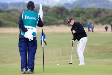 Bernhard Langer The Senior Open Championship - Day One