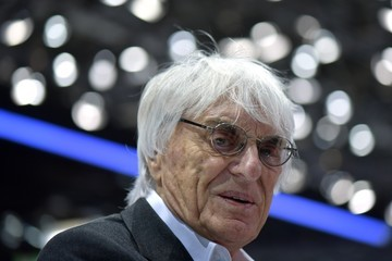 Bernie Ecclestone Geneva Auto Show Press Days 2017