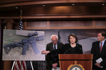 Bernie Sanders Sen. Feinstein Introduces Bill to Ban Devices to Make Weapons Fully Automatic