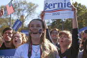People attend a campaign rally for Democratic presidential candidate, Sen. Bernie Sanders (I-VT) in Queensbridge Park on October 19, 2019 in the Queens borough of New York City. This is Sanders' first rally since he paused his campaign for the nomination due to health problems.