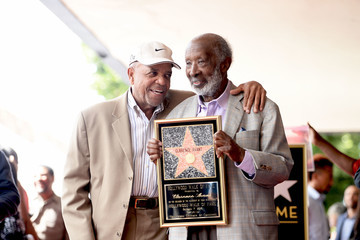 Berry Gordy Clarence Avant Is Honored With a Star on the Hollywood Walk of Fame