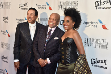 Berry Gordy Rhonda Ross Kendrick Songwriters Hall of Fame 48th Annual Induction and Awards - Arrivals