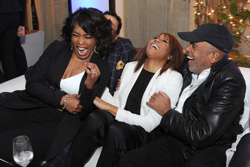 Berry Gordy Smokey Robinson 'Whitney' Afterparty in Beverly Hills