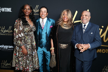 Berry Gordy Smokey Robinson Premiere Of Showtime's 'Hitsville: The Making Of Motown'