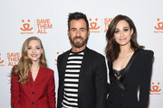 Amanda Seyfried, Justin Theroux, and Emmy Rossum attend Best Friends Animal Society's Benefit to Save Them All at Gustavino's on April 02, 2019 in New York City.