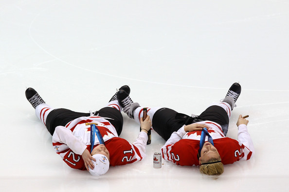 Meghan+Agosta in Best of Olympics - Day 14