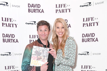 Beth Ostrosky Stern David Burtka Celebrates The Launch Of His New Cookbook 'Life Is A Party'