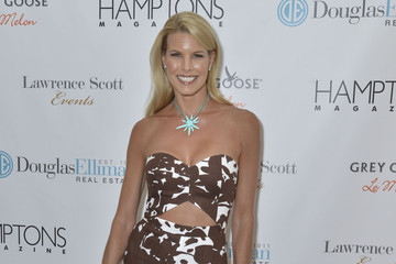 Beth Ostrosky Stern Hamptons Magazine Celebrates Cover Stars Katie Lee, Stephanie At ArtHamptons