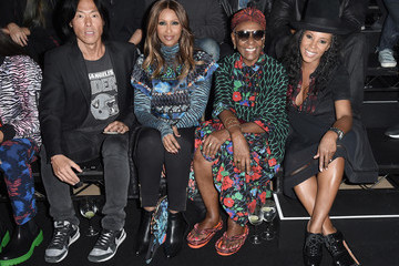Bethann Hardison KENZO x H&M Launch Event Directed by Jean-Paul Goude' - Front Row