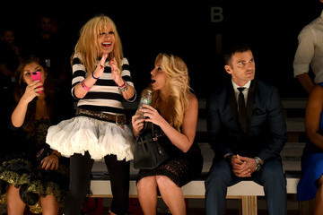Betsey Johnson Betsey Johnson - Front Row - Mercedes-Benz Fashion Week Spring 2015