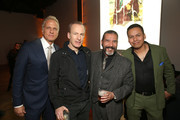 """Patrick Fabian, Bob Odenkirk, Steven Michael Quezada and Jeremiah Bitsui attend the Premiere of AMC's """"Better Call Saul"""" Season 5 After Party on February 05, 2020 in Los Angeles, California."""