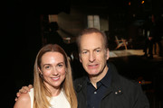 """Kerry Condon and Bob Odenkirk attend the premiere of AMC's """"Better Call Saul"""" Season 5 After Party on February 05, 2020 in Los Angeles, California."""