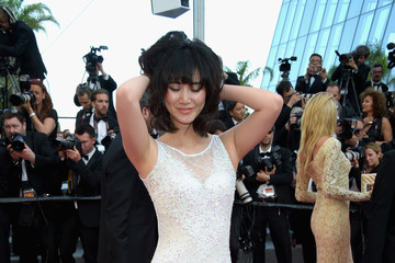 Betty Bachz 'Based on a True Story' Red Carpet Arrivals - The 70th Annual Cannes Film Festival