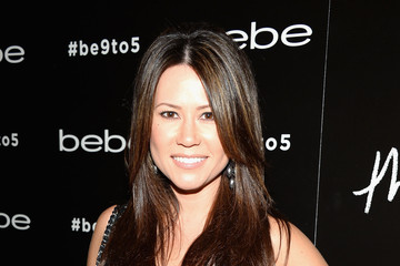 Betty Nguyen Celebs Celebrate bebe's Fall 2013 Launch