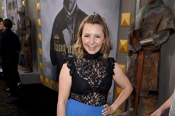Beverley Mitchell Premiere of Warner Bros. Pictures' 'King Arthur: Legend of the Sword' - Red Carpet