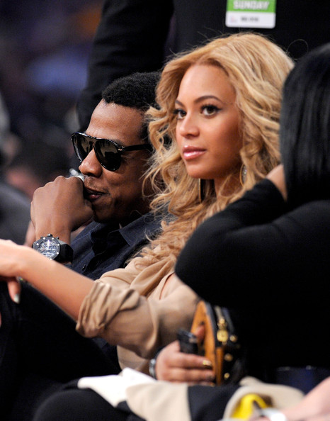 Beyonce Knowles Rapper Jay-Z