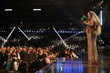 Beyonce Knowles The 59th GRAMMY Awards -  Roaming Show