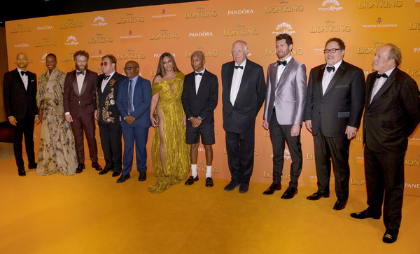 European Premiere Of Disney's 'The Lion King'