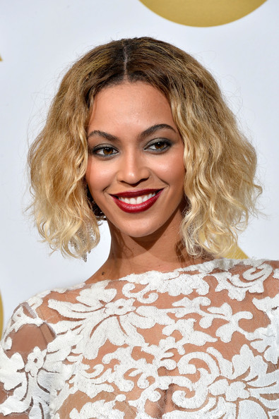 Beyonce Knowles - Press Room at the Grammy Awards