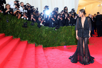 "Beyonce Knowles ""Charles James: Beyond Fashion"" Costume Institute Gala - Candids"