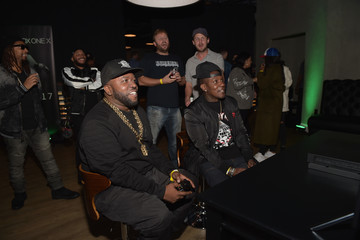 Big Boi Chris Evans, Lauren Cohan, and Lil Jon Host a Celebrity Gaming Event and Xbox Live Session in Atlanta