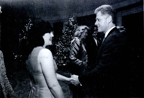 bill clinton and monica lewinsky cartoon. Day monicalewinskybluedress