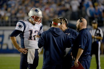 Bill Belichick New England Patriots v San Diego Chargers