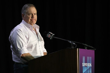 Bill Belichick Super Bowl LII - New England Patriots Media Availability