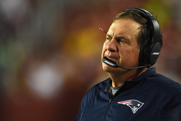 Bill Belichick New England Patriots v Washington Redskins