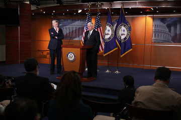 Bill Cassidy GOP Lawmakers Hold News Conference On Free Market Healthcare Plan