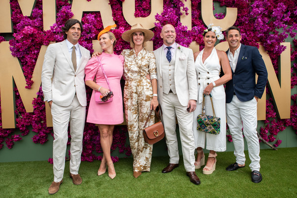 Celebrities Attend 2020 Magic Millions Raceday