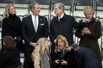 Bill Frist Donald Trump Is Sworn In As 45th President Of The United States
