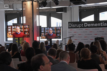 Bill Gates AARP Hosts Brain Health Event Featuring Katie Couric, Jane Krakowski, And AARP CEO Jo Ann Jenkins To #DisruptDementia