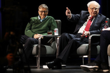 Bill Gates Bill Gates And Warren Buffett Speak At Columbia University