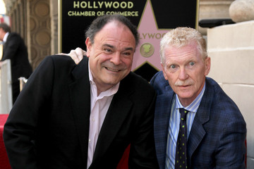 Gil Schwartz Bill Geist Honored On The Hollywood Walk Of Fame