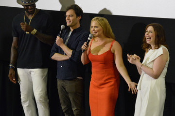 Bill Hader Amy Schumer Lebron James Hosts Advance Screening of Universal Pictures 'Trainwreck' in Akron
