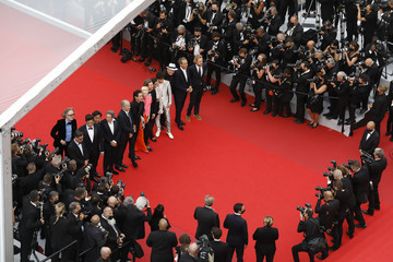 Bill Murray Timothee Chalamet 'Invisible Demons' Red Carpet - The 74th Annual Cannes Film Festival
