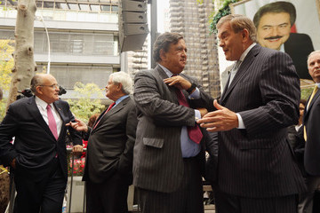 Bill Richardson Protestors Rally Outside UN General Assembly