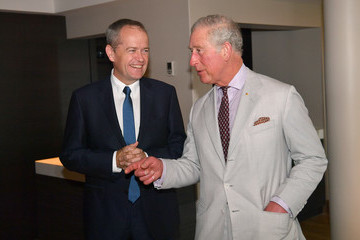 Bill Shorten Prince Of Wales And Duchess Of Cornwall Visit Queensland - Day 2