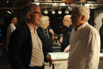 Bill Yosses New York Culinary Experience Private Dinner Honoring Chef David Bouley Hosted By New York Magazine