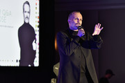 Miguel Bose speaks at the Billboard Latin Conference 2017 at Ritz Carlton South Beach on April 26, 2017 in Miami Beach, Florida.