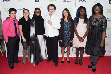 Billie Jean King The Women's Sports Foundation's 38th Annual Salute to Women in Sports Awards Gala  - Arrivals