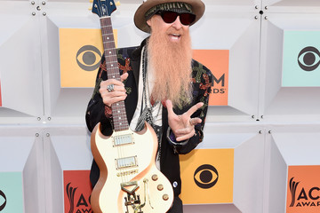 Billy Gibbons 51st Academy of Country Music Awards - Arrivals