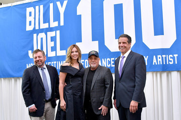 Billy Joel Alexis Roderick Madison Square Garden Celebrates Billy Joel's 100th Lifetime Performance