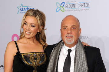 Billy Joel Alexis Roderick Arrivals at Elton John AIDS Foundation Benefit