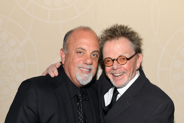 Billy Joel Paul Williams Backstage at the Songwriters Hall of Fame Awards