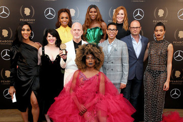 Billy Porter Janet Mock 78th Annual Peabody Awards Ceremony Sponsored By Mercedes-Benz - Press Room