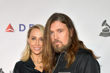 Billy Ray Cyrus Leticia Cyrus MusiCares Person Of The Year Honoring Dolly Parton – Red Carpet